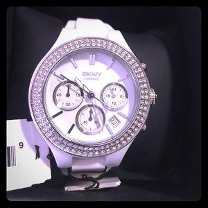 DKNY Chronograph Watch (Ceramic)
